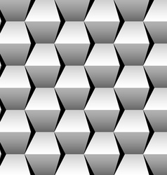 Stacked cubes seamless pattern vector