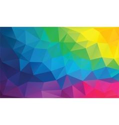 Abstract geometrical background with triangles vector image