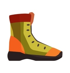 Travel boots vector image