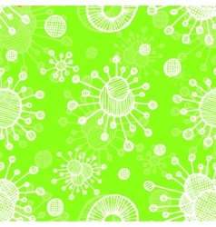 bacterial background Eps10 vector image
