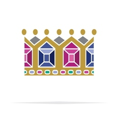 Crown icon6 resize vector image