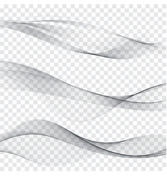 grey soft line web header collection abstract soft vector image