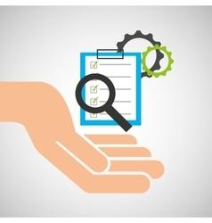 Hand optimization technology check list gear vector