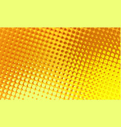 jelly halftone comic background vector image