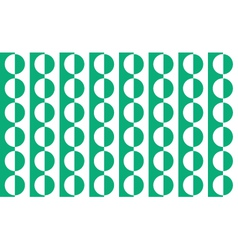 background geometrical green and white vector image vector image