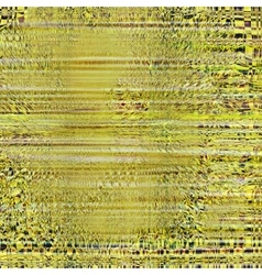 color glitch screen background Digital vector image
