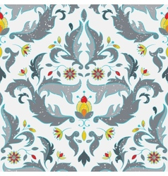 Multicolor seamless pattern vector image vector image