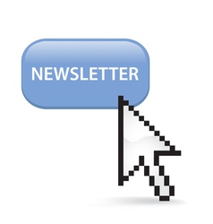 Newsletter Button Click vector image vector image