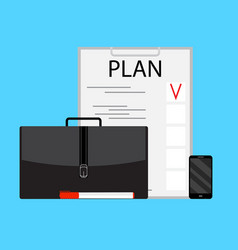 Business planning concept vector