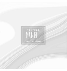 elegant white liquid marble texture background vector image