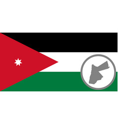 Flag and map o jordan vector