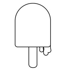 Ice cream dessert design vector image
