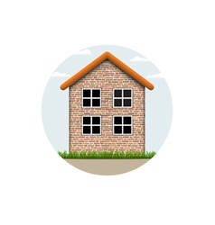 Icon house vector