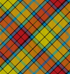 tartan buchanan seamless diagonal pattern vector image