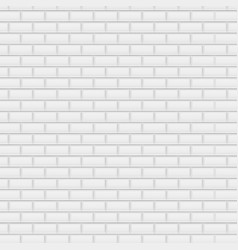 white brick background vector image