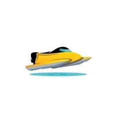 Speed water races speedboat sign Water Formula 1 vector image vector image