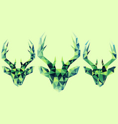 Abstract reindeer vector