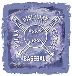 baseball abstract background vector image