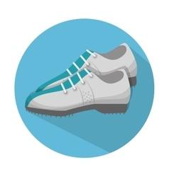 golf shoes design vector image