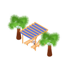 lounge isometric icon vector image