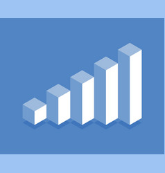 profit growth icon vector image