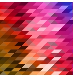 Abstract colorful lowpoly designed vector