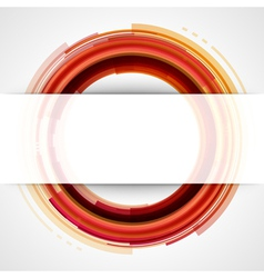 Abstract technology circles background vector