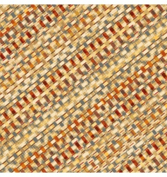 basketry weave vector image