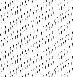 Small strokes diagonal on white vector image