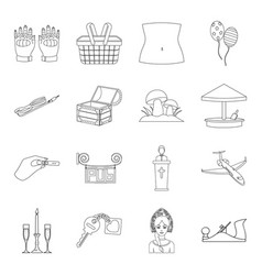 Toy construction maintenance and other web icon vector