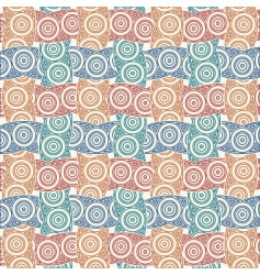 colorful weave vector image vector image