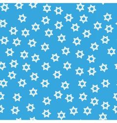 David star hanukkah seamless pattern vector image vector image