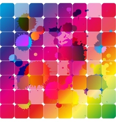 Rainbow forms color vector image