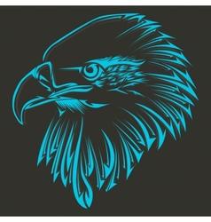 Bird tribal tattoo vector image vector image
