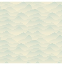 Abstract Blue Mountain Pattern vector image