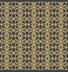 arabic ornaments patterns backgrounds vector image