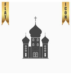 church icon vector image