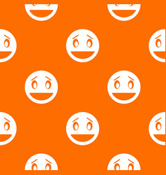 Confused emotpattern seamless vector
