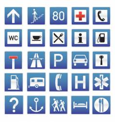 Eye-candy traffic signs vector