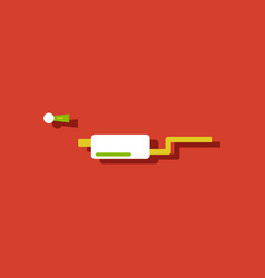 Flat icon design collection ar exhaust pipe vector