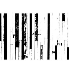 grunge black and white color wood plate textured vector image