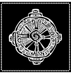Hunab Ku Mayan symbol vector image