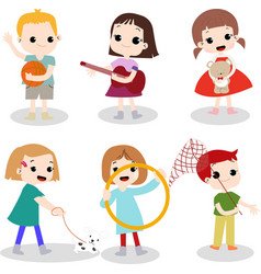 kids hobby vector image
