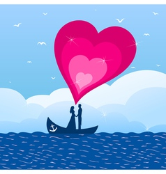 love boat vector image vector image