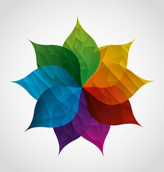 nature emblem vector image