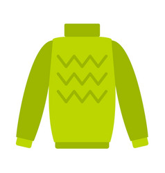 Pullover icon flat style vector