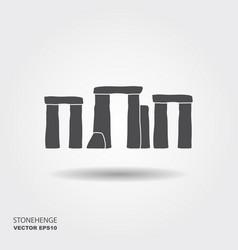 Stonehenge icon vector