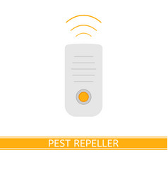 Ultrasonic mosquito repeller vector