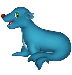 cute Seal cartoon vector image vector image