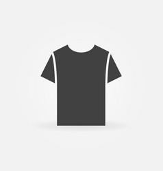 tshirt icon t-shirt symbol vector image
